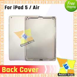 $enCountryForm.capitalKeyWord NZ - 5pcs lot For iPad 5   Air A1484 Back Housing Back Battery Cover Rear Door Housing Case Middle Free Shipping