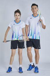 $enCountryForm.capitalKeyWord Australia - YON EXX Badminton Suit Sportswear for Men and Women Short Sleeve T-shirt for Leisure Running Basketball casual wear 6035+7009 white