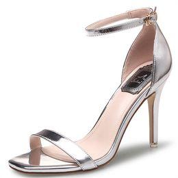 $enCountryForm.capitalKeyWord Australia - 2019 latest hot sale amazon peep open toe sexy buckle strap 11cm super stiletto high heel 7cm dress sandals shoes women ladies footwear