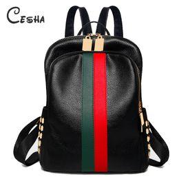 Ingrosso Fashion Rivet Women Travel Backpack Alta qualità impermeabile in pelle PU Shopping Zaino Pretty Style Girl's School # 33054
