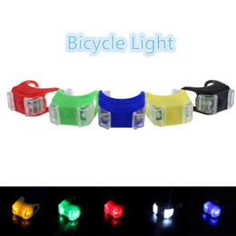 Bicycle Life Australia - New Silicone Bicycle Safety Lighting Led Light Lamp Flashlight Bike For Handlebar Seatpost Long Service Life Bike Light Lamp