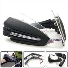 $enCountryForm.capitalKeyWord NZ - 22mm Motorcycle Hand Guard Handle Protector Shield Motorbike Motocross Scooter Windproof Handlebar HandGuards Protection Gear