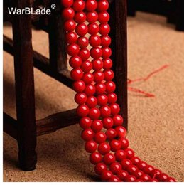 8mm Red Coral Beads Australia - New High Quality Natural Stone Dark Red Coral Beads Round Loose Beads 4mm 6mm 8mm 10mm For DIY Bracelet Necklace Jewelry Making