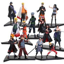 Toys japanese online shopping - New set PVC Japanese Anime Figures Naruto Dolls Uchiha Sasuke Uchiha Itachi Game Naruto Shippuden Action Figure Toy
