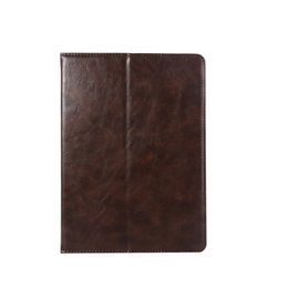 Waterproof Tablet China UK - half Genuine Leather Tablet case for iPad 5 6 Air Air2 pro 10.5 cover case shockproof Dormancy pu leather tablet case