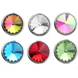 Discount make snap jewelry - 10pcs lot Snap Jewelry 18mm Flower Snap Buttons Metal Charms 18mm 20mm Button Jewelry for Snaps Bracelet DIY Making