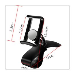 $enCountryForm.capitalKeyWord Australia - Free DHL Car HUD Dashboard Mount Holder Stand Bracket for Universal Mobile Cell Phone GPS with 360-degree rotation