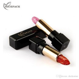 $enCountryForm.capitalKeyWord Australia - Hot Magic Temperature Change Color Lip Stick Waterproof Long Lasting Moisturizer Shiny Glitter Lipstick Cosmetic