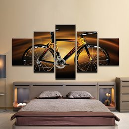 Bicycle Life Australia - Modular HD Printed Modern Sport Home Decor Wall Art Oil Pictures Bicycle Sunshine Cycling Canvas Painting Poster Unframed