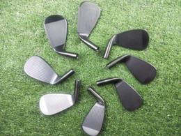 $enCountryForm.capitalKeyWord Australia - New Golf Club A3-718 Black Iron 8 picec Suits 3-9.P Loft R S Flex Steel Shaft With Head Cover Free Delivery