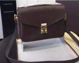 Cosmetic Bags Locks Australia - Leather high quality Handbags Shoulder bags Tote bag Half moon package Satchel Hand bags wallet Cosmetic bag backpack Travel Bags purse 17