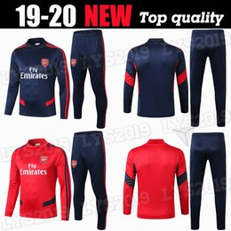 men football tracksuit Australia - 2019 aRSeN soccer tracksuit del Chandal Survetement 19 20 PEPE Long sleeve football kits 2020 arsen soccer jogging men football training su