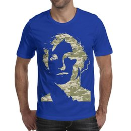 Chinese  Men design printing Logan Paul Online video Camouflage blue t shirt printing undershirt cool crazy friends shirts printed t shirt cotto manufacturers