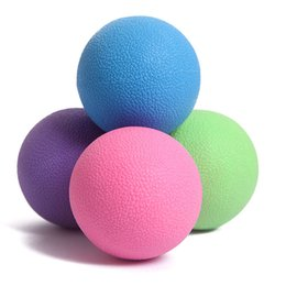 $enCountryForm.capitalKeyWord Australia - 2018 Hot !Gel Reaction Elastic Massage Lacrosse Ball Relieve tension Coordination points Exercise Sports Gym Ball Self massage