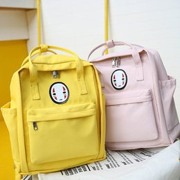 black yellow backpack NZ - 2019 New Women Backpack Printing Bag for Women Big Laptop School Backpack for College Student Travel Bag Mochila 2018 Yellow SH190918