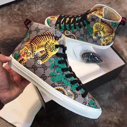 $enCountryForm.capitalKeyWord Australia - BEST High Quality ACE Designer G Kids Shoes White Black Sports Stripe Genuine Leather Web Sneaker Luxury Boy Girls Casual Shoes