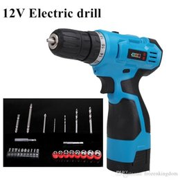 Electric Drills Power Tools 16.8v Two-speed Cordless Screwdriver Electric Drill Rechargeable 2pcs Lithium Battery Waterproof Hand Led Light Rapid Heat Dissipation