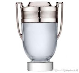Venta al por mayor de 2019 nuevo Invictus by Rabanne EDT Colonia para hombres perfume 100ml Perfume Rabanne Invictus duradero buen olor fragancia