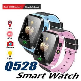 $enCountryForm.capitalKeyWord Australia - Smart Watch Q528 Children Wrist LBS Waterproof Baby Watch with Remote Camera SIM Calls Gift for Kids dz09 gt08 M05 EXCT Retail Packs
