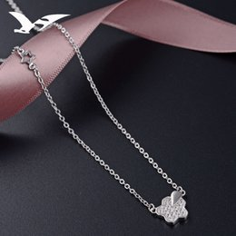$enCountryForm.capitalKeyWord NZ - S925 pure silver necklace women Korean version simple star zircon pendant clavicle chain fashion fresh accessories