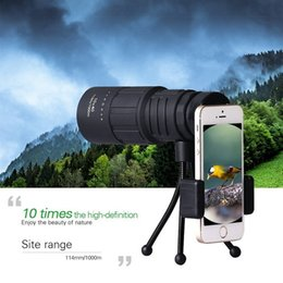 $enCountryForm.capitalKeyWord Australia - Monocular Telescope 10X40 HD Zoom High Power Prism with Smartphone Adapter and Tripod for Concerts Theater Opera Hiking