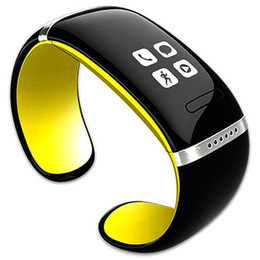 l12s oled bluetooth großhandel-Smart Armbanduhr L12S OLED Bluetooth Fitness Tracker Smart Watch verlorene Passometer Pedometer intelligente Armbanduhr für iOS Android iPhone