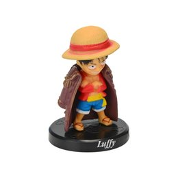 12 Year Child Models NZ - Cute 12 Q One Piece Sea Thief King Animation Hands Do Model Toy Set Diy Car Desktop Display Children Toys Gifts