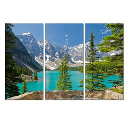 $enCountryForm.capitalKeyWord UK - Wall Art Contemporary Print Painting Mountains Nature Glacial Lake Landscape on Canvas Living Room picture Bedroom for Office Decor DYA042
