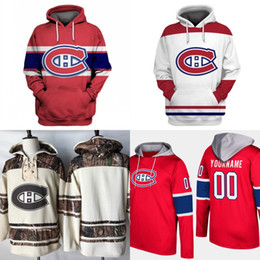 Wholesale mens hoodies prices resale online - Montreal Canadiens Hoodie Jersey Mens Max Domi Shea Weber Brendan Gallagher Carey Price Antti Niemi Hockey Jerseys