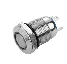 Waterproof momentary push button sWitch online shopping - 1PC LED Bulb Night Light Push Button Switch mm Momentary Self Locking Switches Waterproof Metal Pin New