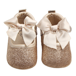Discount loafer shoes for girls - Shoes for Girls Mary Jane Flats Shoes Kid Newborn Infant Toddler Crib Cute Bow Bebes Casual Loafers Princess Shoe Footwe