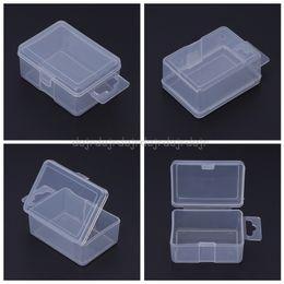 Plastic Jigs Australia - Fishing Box Plastic Transparent Clear Lure Bait Hook Tackle Jig Storage Portable N21 dropship