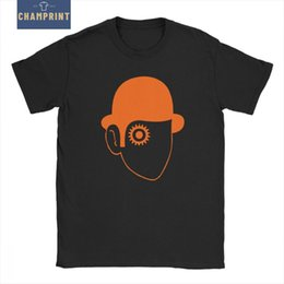 Black milk t shirts online shopping - Humorous A Clockwork Orange T Shirts Men Cotton T Shirts Kubrick Alex Burgess Droogs Anthony Milk Short Sleeve Tees