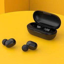 Haylou GT1 Plus Qualcomm QCC3020 Bluetooth 5.0 TWS auriculares aptX / AAC Independiente Uso Siri Google auxiliar 18 Horas Tiempo en espera IPX5 - Bla en venta