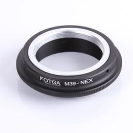 Fotga adapter online shopping - fotga FOTGA Ring For M39 Lens to NEX NEX E Mount Adapter Ring oem