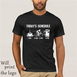 $enCountryForm.capitalKeyWord NZ - 2018 New Mens T Shirts Funny Cycls T-Shirt Mountain Biking Schedule Tee 100% Cotton Brand New T-Shirts