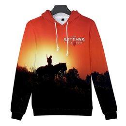 $enCountryForm.capitalKeyWord Australia - 2019 Hot Game 3d The Witcher 3 Hip Hop Hoodies Sweatshirts Men Women Couple Sweatshirt Harajuku Long Sleeve Pullovers Streetwear