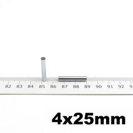 Wholesale Neodymium Magnet Cylinder Australia - Micro Magnet Cylinder Dia. 4 X 25mm Precision Neodymium Sensor Magnets N42 Small Magnets Art Craft Connection 30pcs