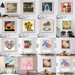 $enCountryForm.capitalKeyWord NZ - 30*30CM Full Drill 5D Diamond Painting Kits Embroidery Cross Stitch kits living room mosaic pattern Fast Shipping wholesale