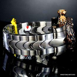 Invicta Venom Subaqua Dragon proportion bronze steel rose gold chronograph wristwatch new-1 on Sale