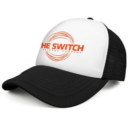 Led Hat Dance Australia - The-Switches-indie-rock-band-lead-vocals mens guys Sport Hip-hop hat breathable adjustable women girls dance cap personalized golf cap mesh