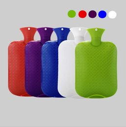 Multi Color Hand Bag Australia - 2000ML Hot Water PVC Bag 6 Colors Hand Warming Water Bottles Winter Warm Relaxing Heat Cold Therapy Bags Maternity Supplies OOA6044