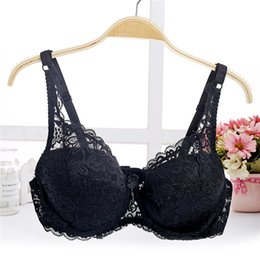 10ed9f215 fashion lace thin cup push up bra big size D cup sexy women underwear  brassiere gather bralette lingerie modis