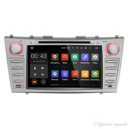 """China Joyous 1024*600 Double 2 Din Quad Core 8"""" Android 5.1.1 Car DVD Player GPS Navigation For Toyota Camry 1024*600 HD Head Unit Car Stereo cheap tv for toyota camry car suppliers"""