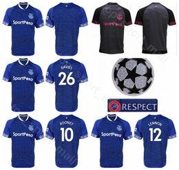 2018 2019 FC Everton Soccer 10 SIGURDSSON Jersey Men 11 WALCOTT 30  RICHARLISON 12 DIGNE 14 CENK TOSUN Football Shirt Kits Uniform 9669a3f25