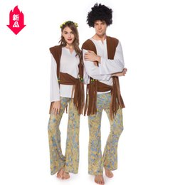 Wholesale sexy indian costumes women resale online - Halloween Clothing Adult Lovers Pretend Indian Tribe Princess Clothing Indian Cosplay Clothing