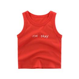 $enCountryForm.capitalKeyWord Australia - 2019 Torridity Boys Shirts Cartoon Kids Underwear Girls Undershirts Baby Sleeveless T-shirts Vest For Children Clothing