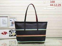 Navy Black Stripes Bags Australia - designer handbags NEVER FULL pu leather women handbag fashion totes composite fashion totes bag LoVely designer bags 03