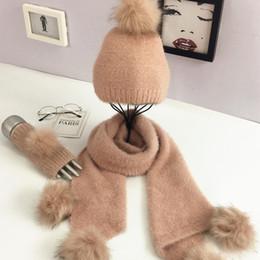 $enCountryForm.capitalKeyWord NZ - Winter Woolen Knitwear Three Piece Set Pure Color Warm Wool Hat Scarf Gloves Set Christmas Gift