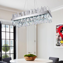 $enCountryForm.capitalKeyWord Australia - 2019 New Modern crystal Chandlers For Living Room silver Home Hanging Light Fixtures crystal chandeliers pendant lamp AC110-220V dhl